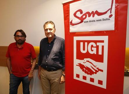 """UGT: """"L'edifici de sindicats s'hauria de clausurar ja mateix per insegur"""""""