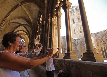 La Seu Vella fa el seu agost turístic amb prop de 250 visites diàries