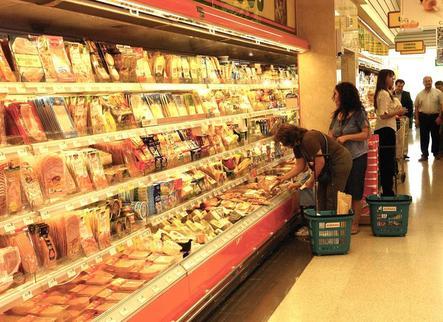 Hortalisses, fruita i carn: la cistella de la compra