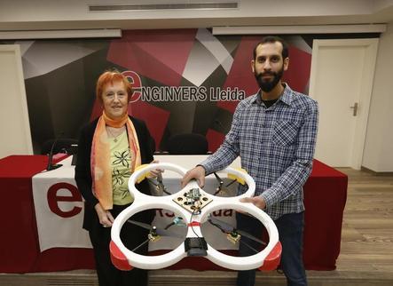 Un alumne de la UdL dissenya un dron amb visió artificial