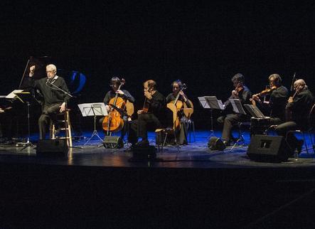 Xavier Ribalta emociona amb la poesia de Josep Piera a Tàrrega