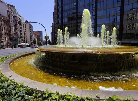 Lleida es tenyeix de color groc per recordar els nou mesos de l'1-O