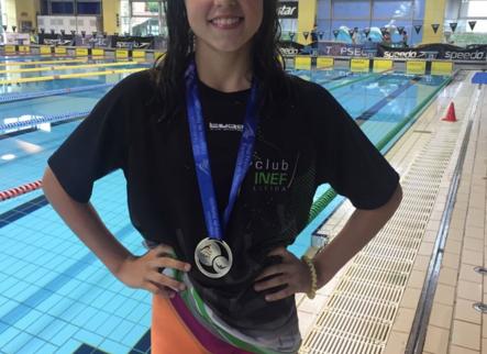 Tercer or per a Emma Carrasco a l'Estatal aleví