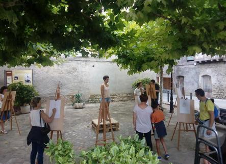 L'art omple els carrers de Salàs de Pallars