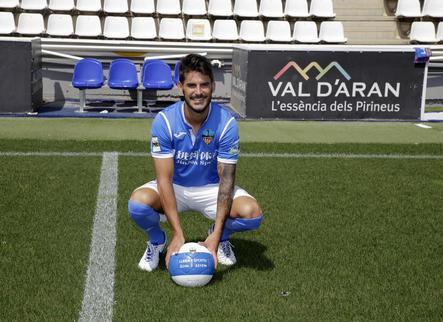 """Joan Oriol: """"Vull tornar amb el Lleida al futbol professional"""""""