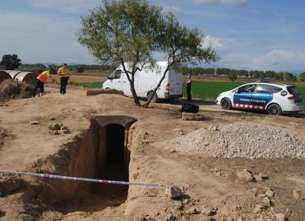 Troben 3 granades en un búnquer del Tossal de la Costera de Linyola