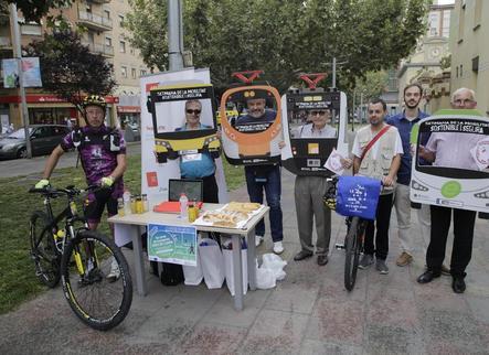 La bici i el cotxe tarden el mateix de Rosselló i Torrefarrera a Lleida