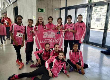 El Lleida Unió Atlètica obté quinze medalles en diferents campionats