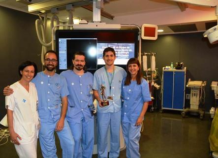 Premi per a infermers de radiologia vascular de l'Arnau de Vilanova