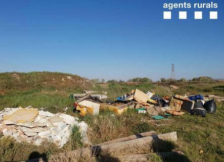 Els Rurals denuncien un abocament il·legal a Térmens