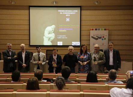 Mensa Lleida entrega els quarts Premis al Coneixement