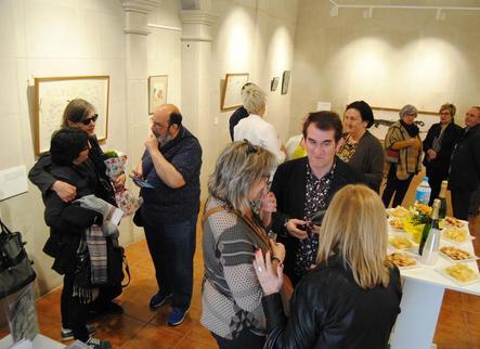 Torregrossa inaugura l'exposició a La Capella dedicada a Benet Rossell