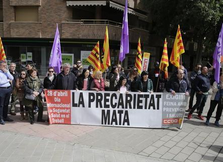 Pugen un 17% a Lleida les malalties professionals