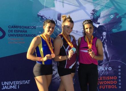Cinc medalles per a la UdL en atletisme i taekwondo