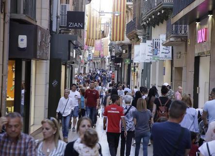 El carrer Major és el més rendible d'Europa per obrir un comerç
