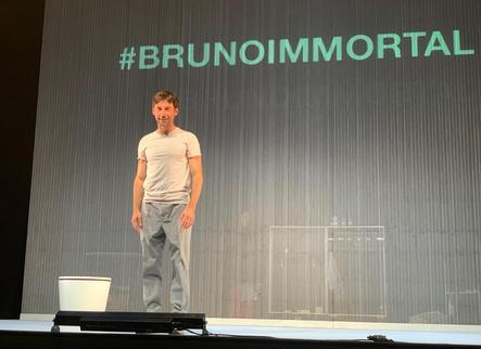 L'actor Bruno Oro protagonitza a Juneda la comèdia 'Immortal'