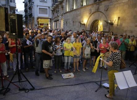Assemblees locals de l'ANC no volen a anar a Barcelona l'1-O