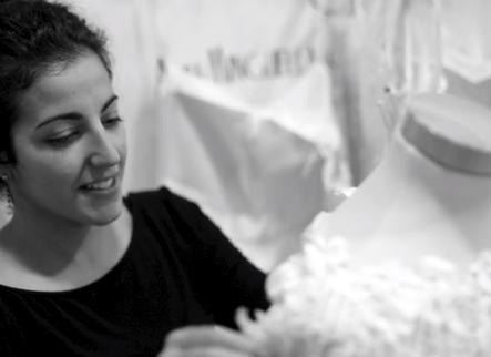 Alba Minguella, o com trencar tradicions en un vestit de núvia