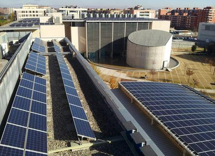 La UdL aposta per l'energia neta incloent plaques solars als nous edificis