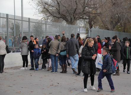 La sortida d'una escola de Lleida / SEGRE