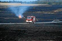 Arrasades 176 hectàrees a la Noguera en els dos focs més importants de l'any a Ponent