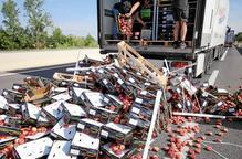 El ministeri d'Agricultura demana a França responsabilitats per l'atac als camions de fruita lleidatana