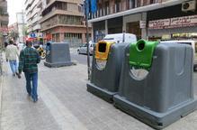 La Paeria resituarà els contenidors de la ciutat a partir del novembre