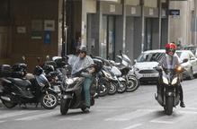 Les motos ja són un de cada set vehicles a la ciutat al créixer un 53% en quatre anys