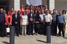 Visita de Creu Roja Espanyola a seus de la institució a Lleida
