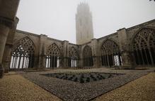 Cobertes, Porta dels Apòstols i torre, prioritats de la Seu Vella