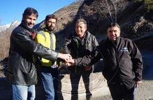 Els tres municipis de la Vall de Cardós s'alien per dinamitzar l'economia local