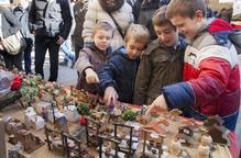 Bona afluència de visitants en el Mercat de Nadal d'Agramunt