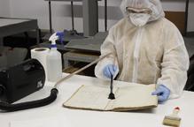 Bell-lloc restaura d'urgència els seus documents històrics