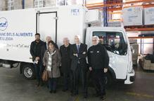 Nou camió per al Banc dels Aliments