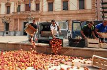 Primera protesta a Lleida arran del veto rus i la UE permet ara el compostatge amb fruita