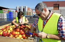 Els agricultors de Lleida exigeixen a les portes de la Comissió mesures justes
