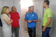 Les obres de remodelació del camp de l'AEM, en la recta final