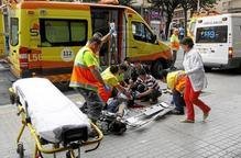 Sembra el pànic a l'apunyalar cinc transeünts en ple carrer a Lleida
