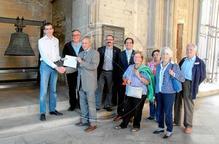 Amics de la Seu Vella donen per a 'Mònica' 6.000 €euros