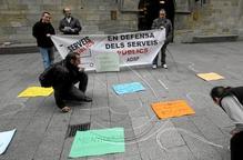 Acció per defensar els serveis públics