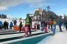 La neu i el fred permeten obrir totes les estacions d'esquí de Lleida aquest pont
