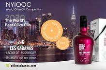 La Cooperativa de Juncosa, guardonada amb una Medalla d'Or als premis NYIOOC World Olive Oil Competition 2020