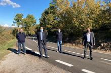El Govern invertirà 3,5 MEUR per millorar el camí de Pinós a Salo