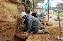 Restauració d'urgència de la muralla de la Seu Vella