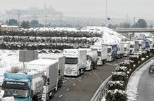 La neu paralitza mig Lleida
