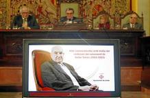 """Lleida ret un nou homenatge a la """"humanitat i vitalitat"""" de Víctor Torres"""