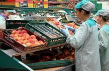 Les exportacions de fruita, única dada positiva d'un any crític per al sector