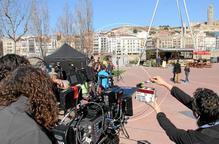 Lleida, plató de 21 rodatges el 2014