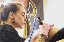 Ester Sans, o com plasmar l'art a la pell