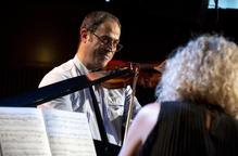 Alfons Pérez: 'Tocaré el violí fins al dia en què els dits no em donin'